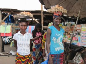 Women in Seguela Market