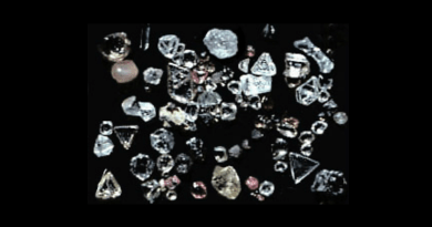 Rough diamonds from Africa
