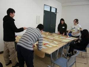 秋田大学、国際資源学科、グループワーク