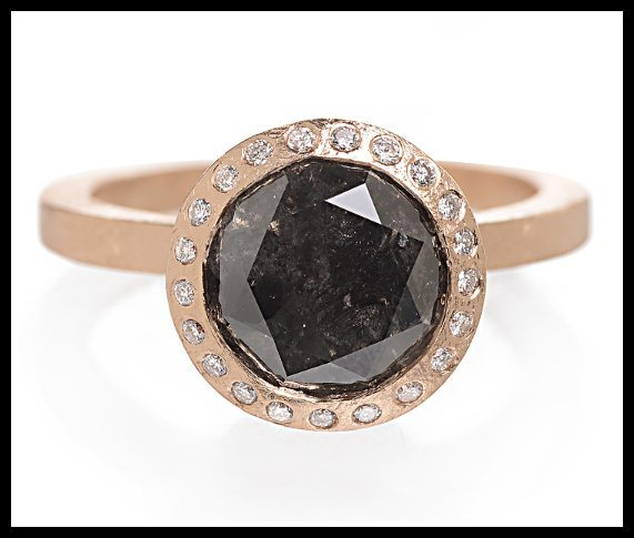 Estate Wedding Bands 83 Cool Todd Reed black diamond