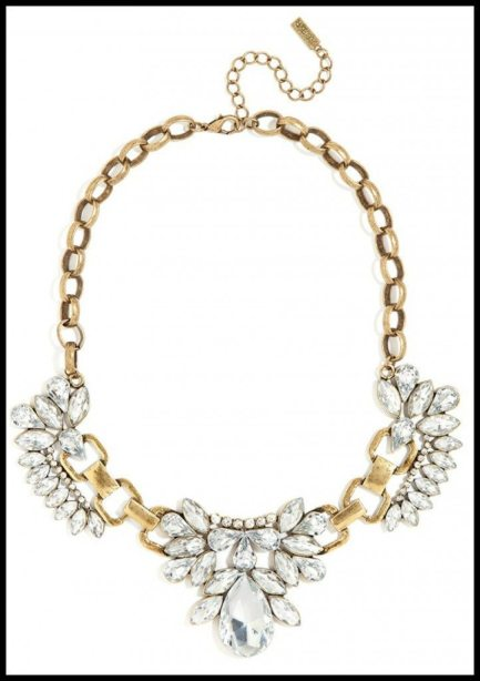 BaubleBar Mademoiselle Necklace. Via Diamonds in the Library's jewelry gift guide.