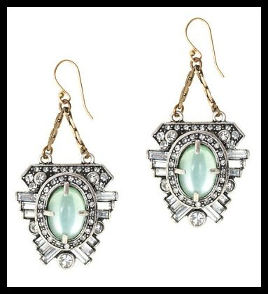 Lulu Frost for J.Crew harvest moon earrings. Via Diamonds in the Library's jewelry gift guide.