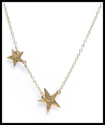 Gorjana Gold-Plated Super Star Necklace. Via Diamonds in the Library's jewelry gift guide.