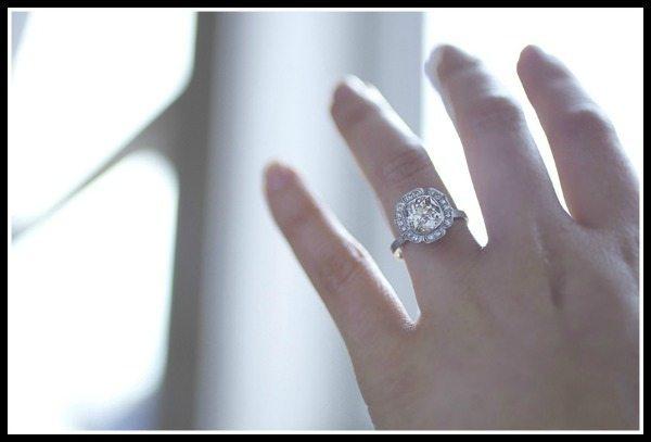 Van Cleef Wedding Bands 49 Epic Caroline Halo engagement ring