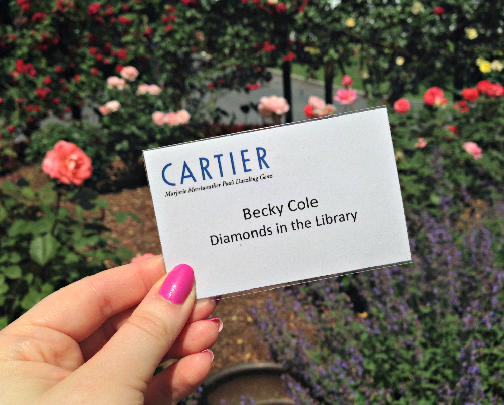 Diamonds in the Library visits Hillwood for Cartier exhibit