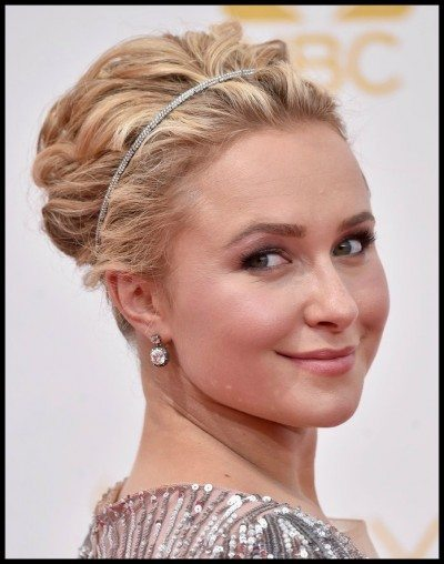 Hayden Panettiere in Fred Leighton at the 2014 Emmy awards