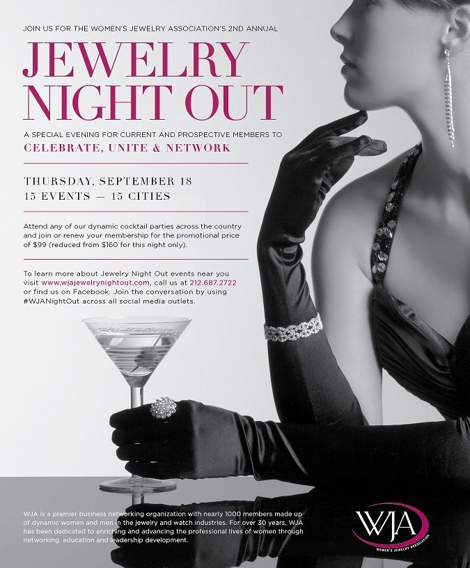 Women's Jewelry Association Jewelry's Night Out