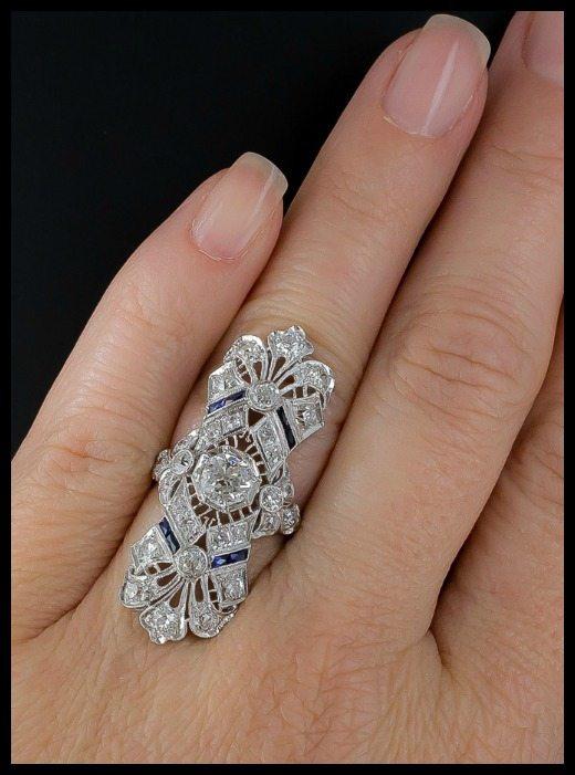 Wedding Ring Filigree 44 Fabulous A magnificent antique Art