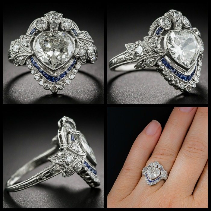 Edwardian Wedding Rings 27 Awesome Multiple views of an