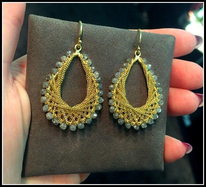 Fabulous Amali jewelry earrings.