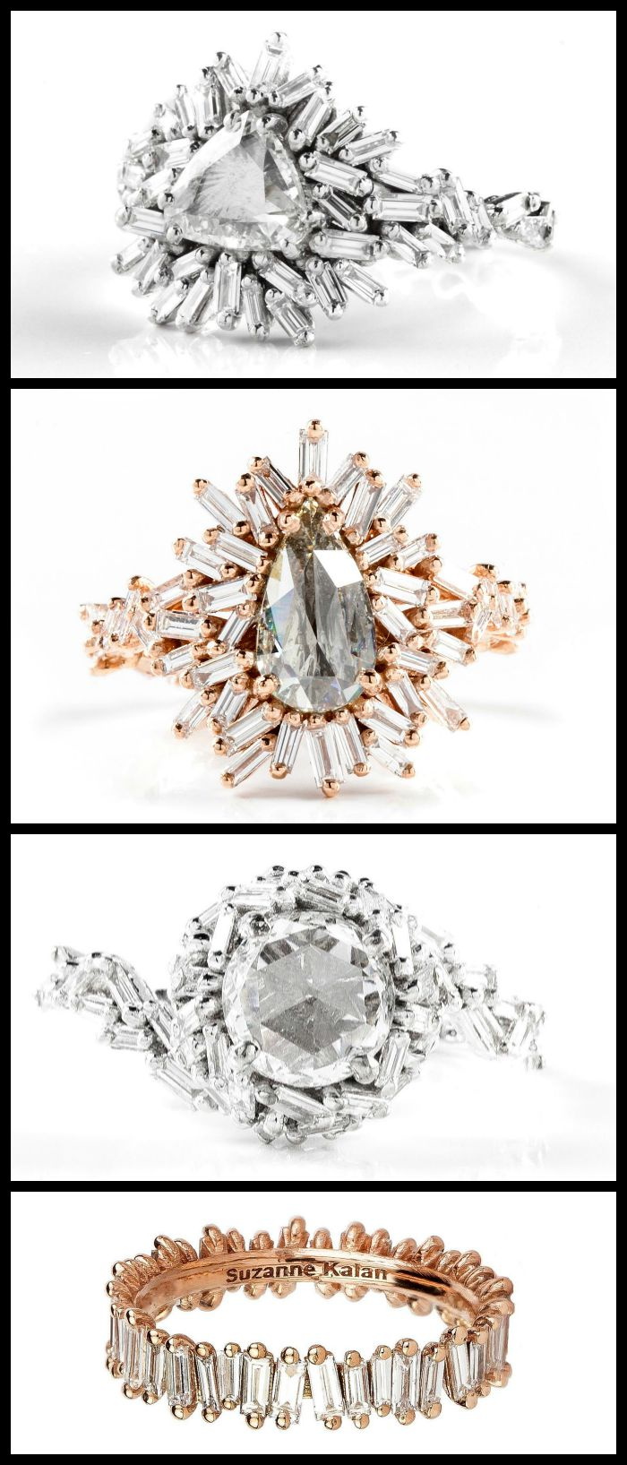 The beautiful rings of the Suzanne Kalan Devoted collection