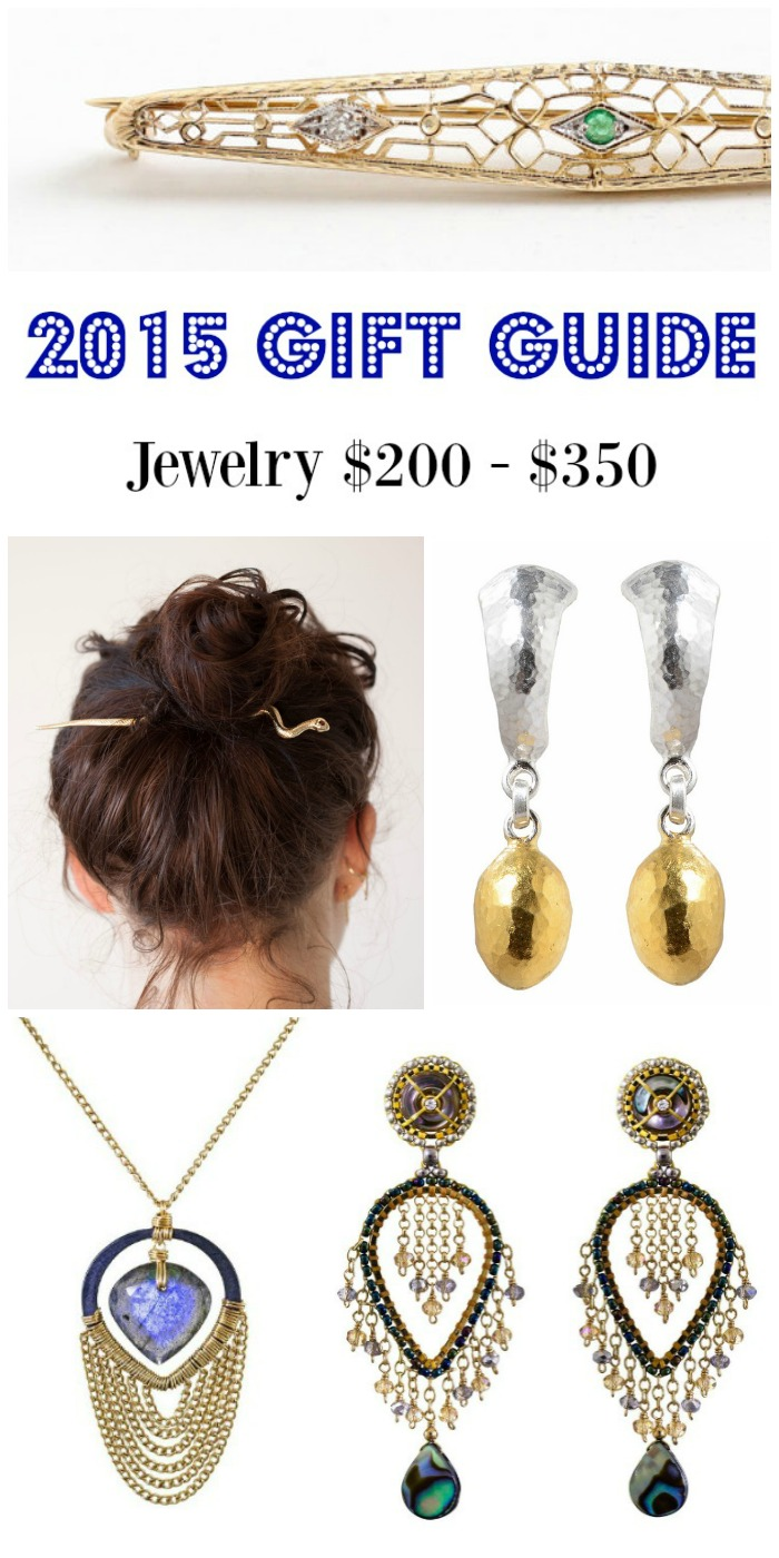 Diamonds in the Library's 2015 jewelry gift guide - jewelry $200- $350