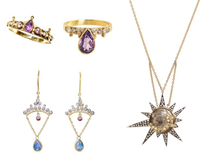 Beautiful pieces of jewelry by the fabulous Unhada Jewelry