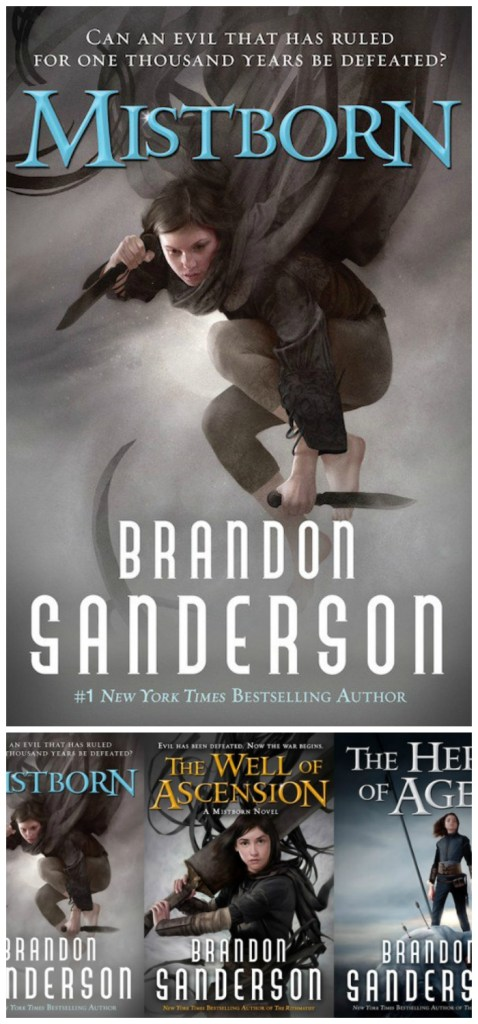 My review of Brandon Sanderson's Mistborn Trilogy - a series of three totally enthralling, masterfully written fantasy novels I just couldn't put down.