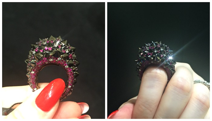An absolutely incredible ring from Mattioli jewelry. Spotted at VicenzaOro.