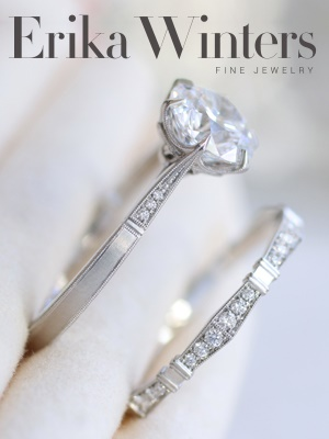 Visit our partner, Erika Winters fine jewelry! Image © Erika Winters Fine Jewelry