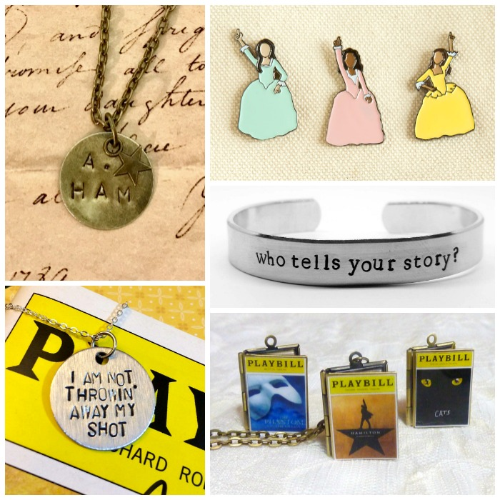 The number one post of 2016 - Hamilton jewelry, for A. Ham superfans!