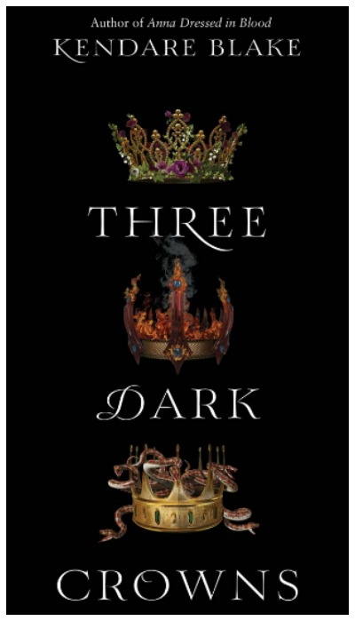 Three Dark Crowns by Kendare Blake. A fierce, fascinating start to a YA series about three sisters who must try to kill each other so that the survivor can become queen.