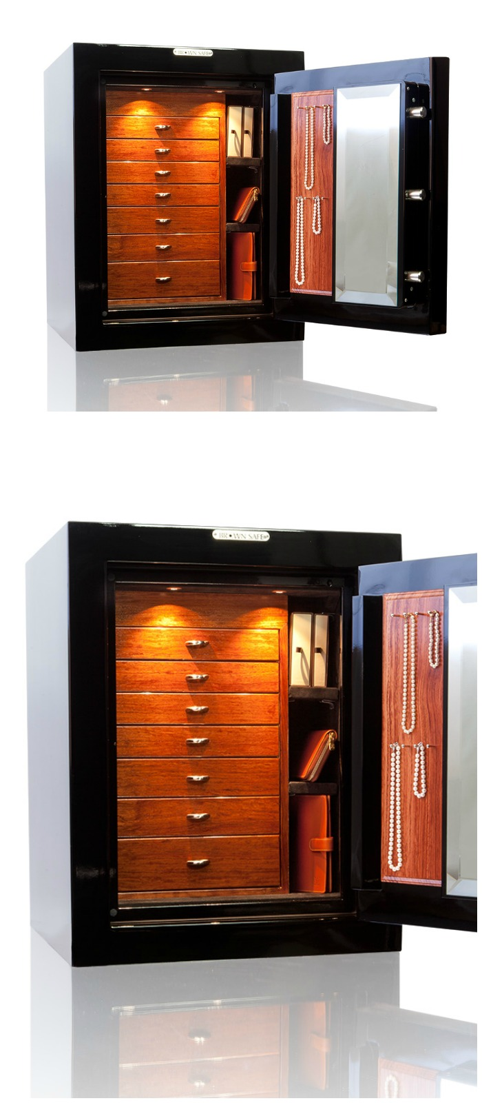 A beautiful custom safe form Brown Safes.