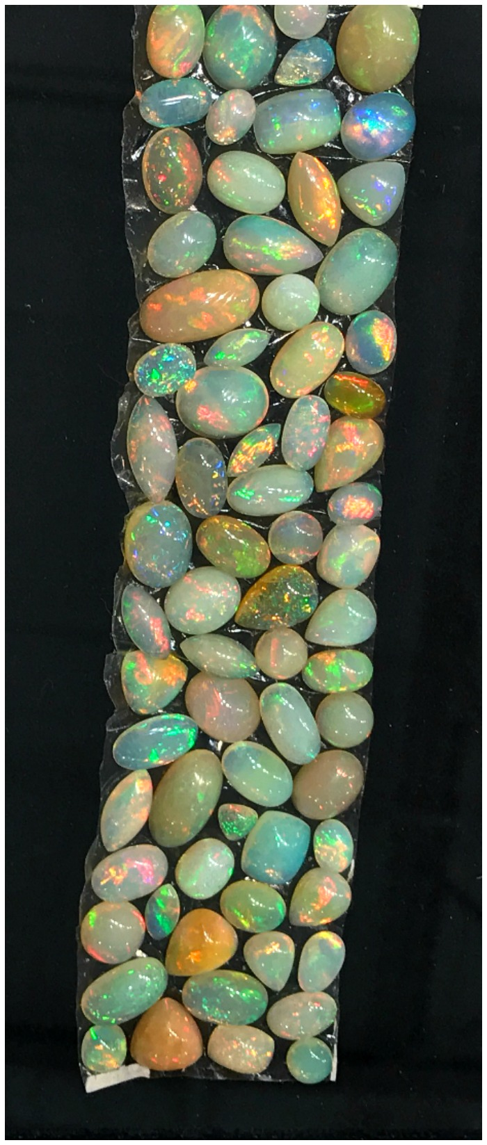 Opals from Akiva Gil at the AGTA GemFair