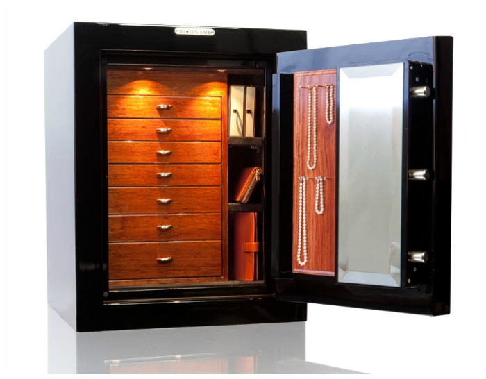 A beautiful custom safe from Brown Safes.