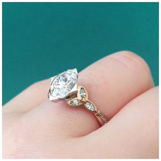 The Ballantrae engagement ring by MaeVona.