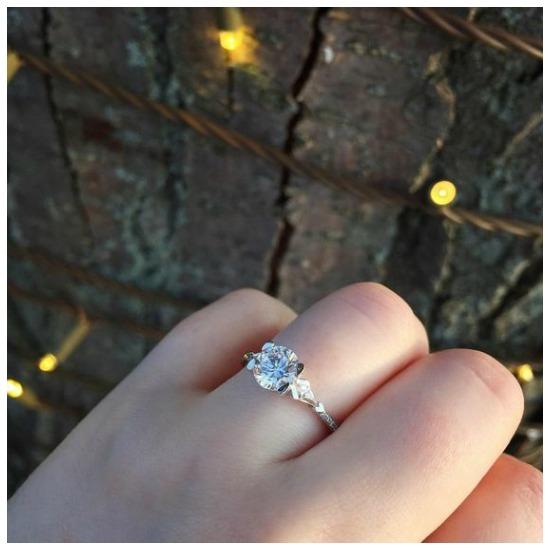 The beautiful Gairsay engagement ring by MaeVona.