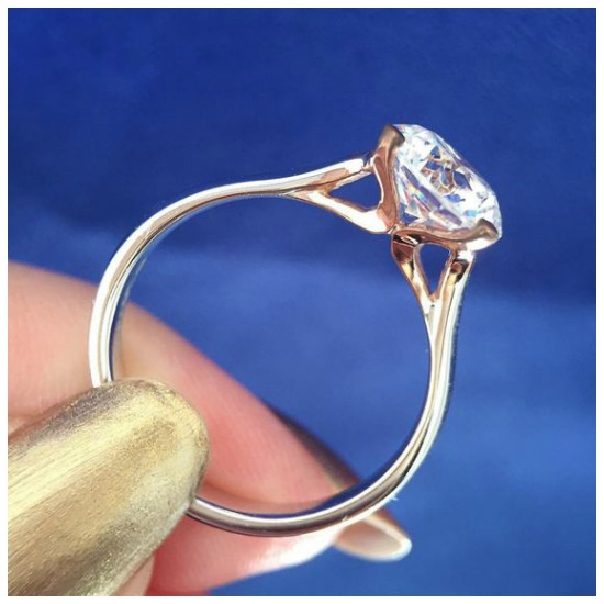 The wonderful Westray engagement ring by MaeVona.