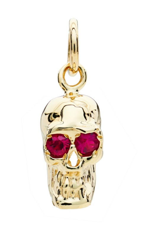 I love these Alexis Kletjian skulls! In yellow gold with rubies.