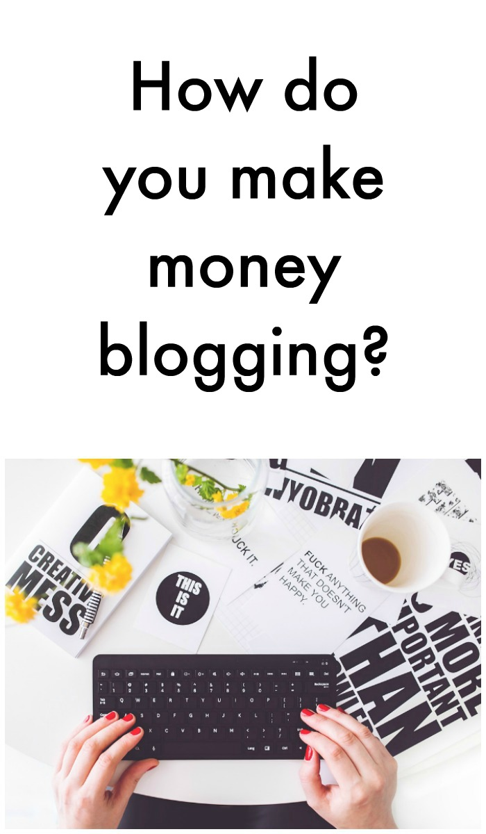 If you've ever been curious about how to make money blogging...here's the low down on how I do it!