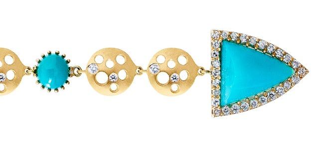 Super cool Dana Bronfman earrings.