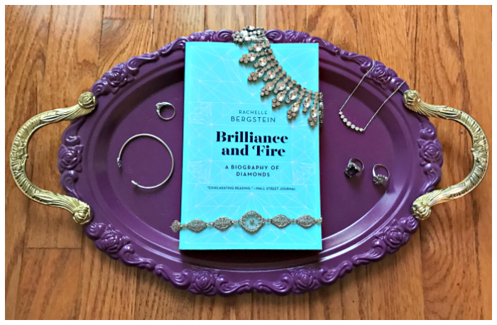 Win a copy of Brilliance and Fire, Rachelle Bergstein's dazzling new book all about diamonds!