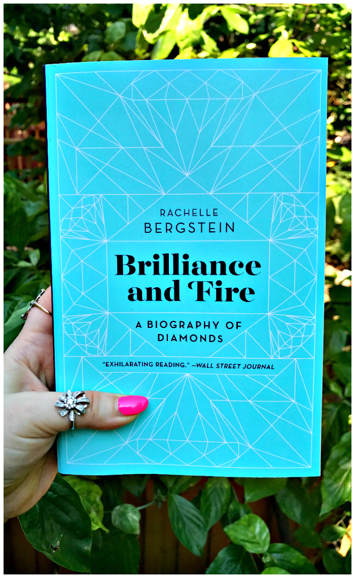 Win your own copy of Brilliance and Fire, Rachelle Bergstein's new book all about diamonds!