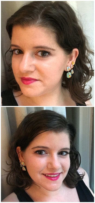 Covered in opal earrings from Loriann Jewelry!