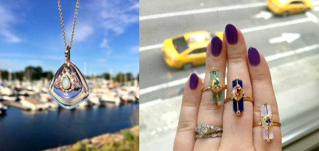 Loriann Jewelry's irresistible, elemental elegance.