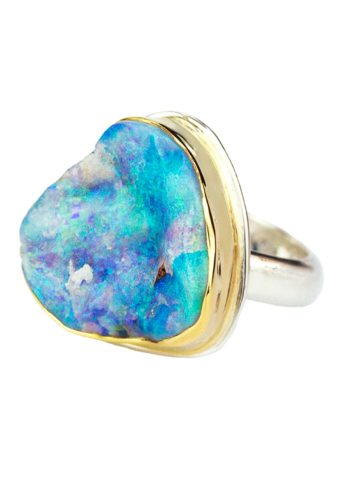 A one of a kind opal ring from By Jodi.