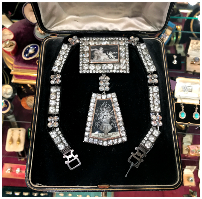 Treasures of the Las Vegas Antique Jewelry Show.