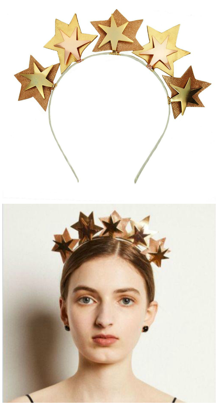 Gold star headband by JY Jewels