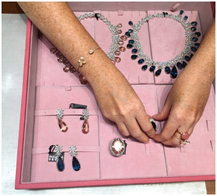 A jewelry box full of glamour at Pasquale Bruni.