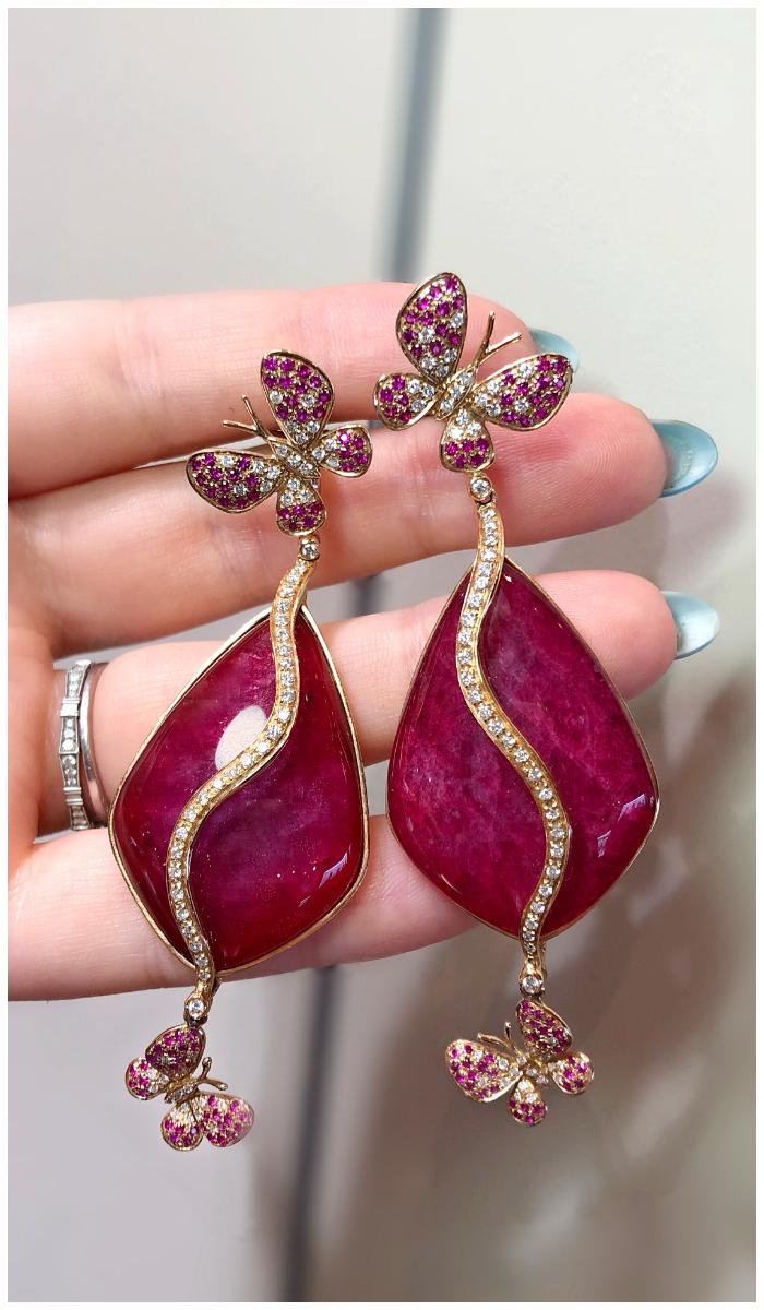Beautiful butterfly earrings by Moraglione!! I love Italian jewelry design.