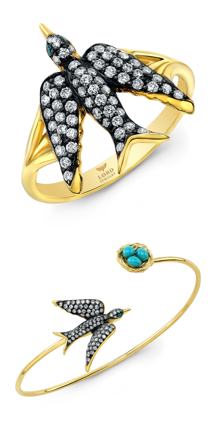 Beautiful birds from Lord Jewelry!
