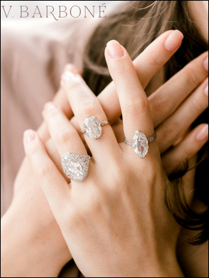 Visit our partner, Victor Barbone, for beautiful vintage engagement rings!