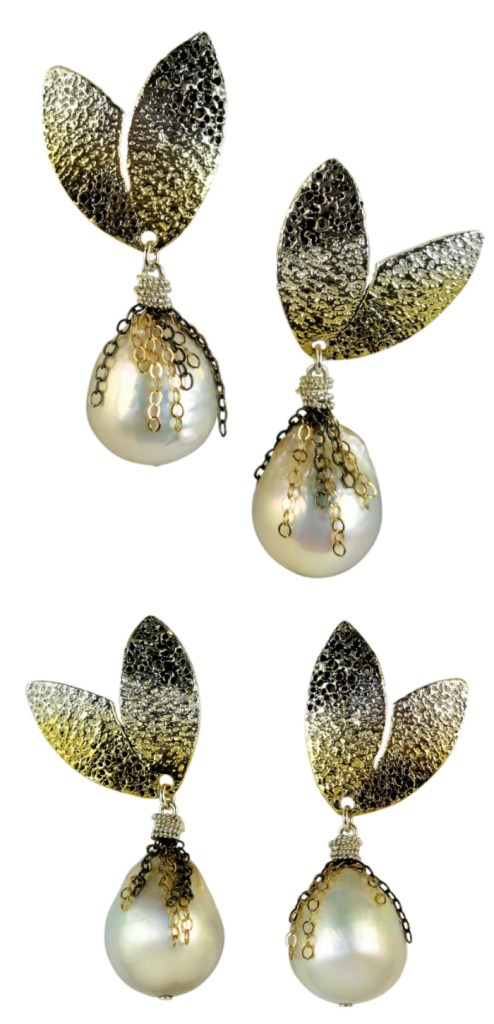 I love these pearl earrings by Josanne Mark! From The Jewelry Showcase.