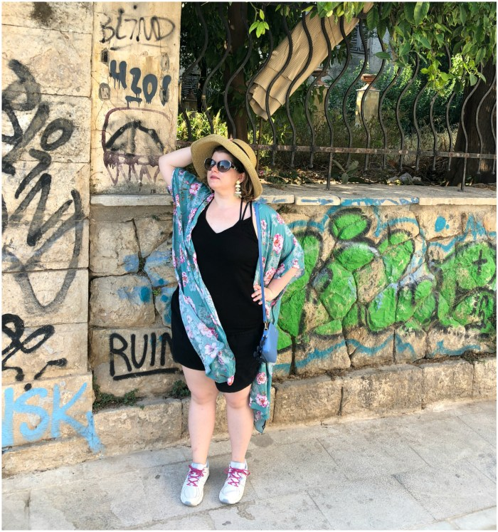 I loved the colorful street art in Athens.