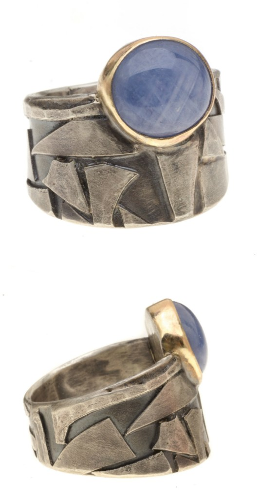 Super cool sapphire ring by Jivita! From The Jewelry Showcase.