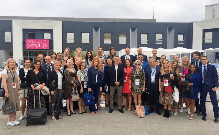 The international press deligation at VicenzaOro 2018!