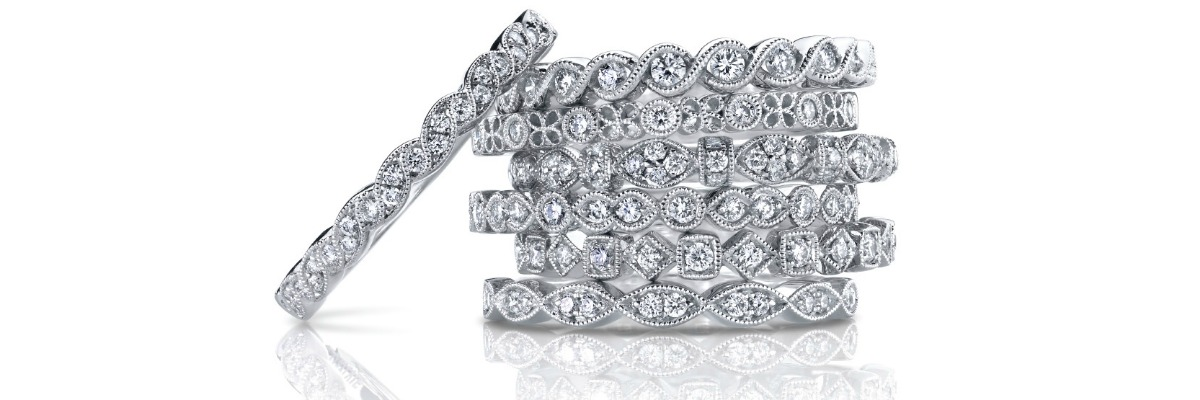 Win a FREE Sylvie Collection diamond ring! #MatchTheStack