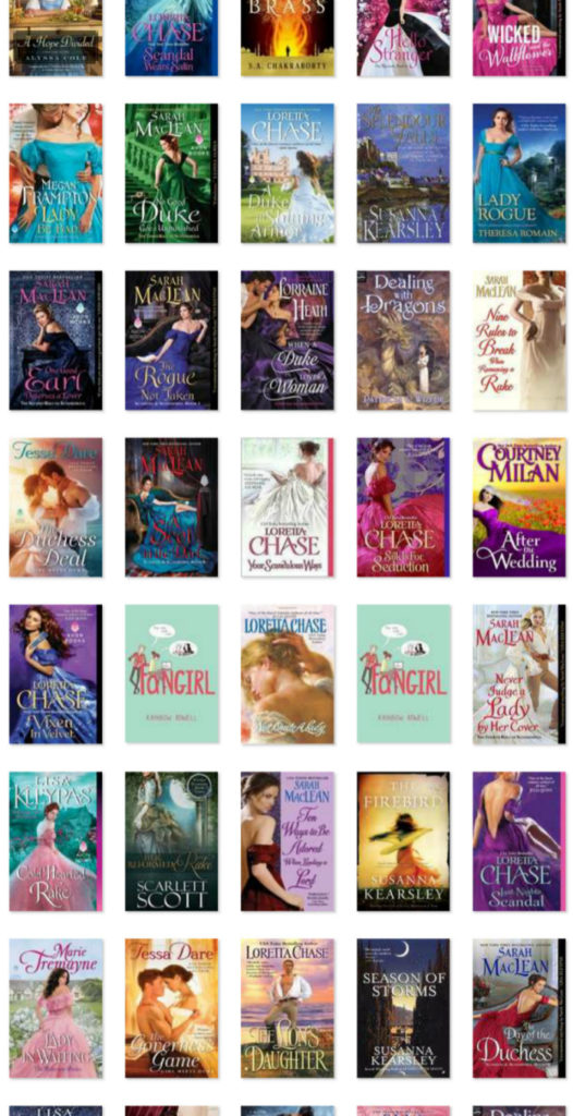 All the best books I read in 2018! A little YA, a little fantasy, a little SciFi...and a lot of Romance.