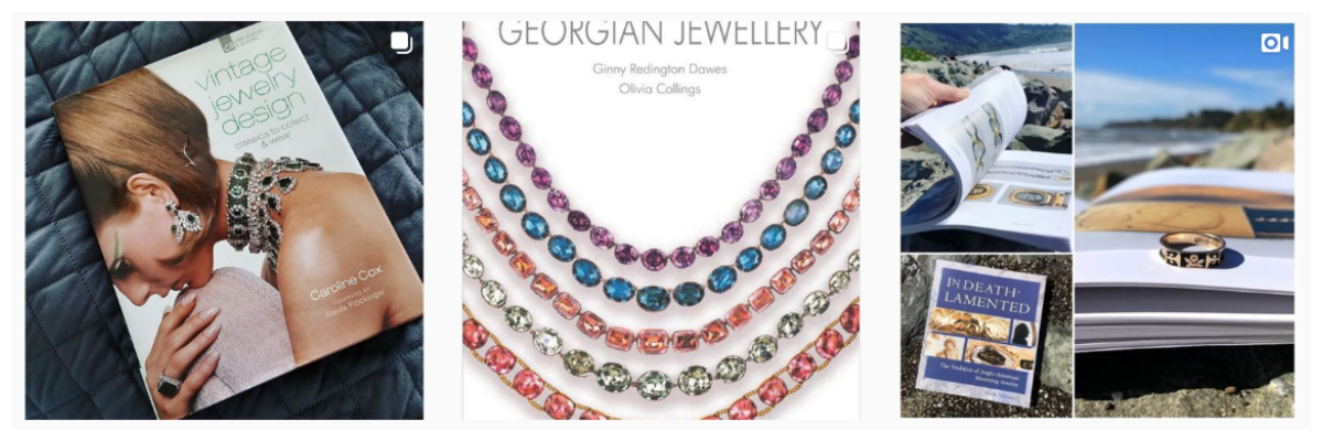 Share jewelry book recs on #IGJewelryBooks.
