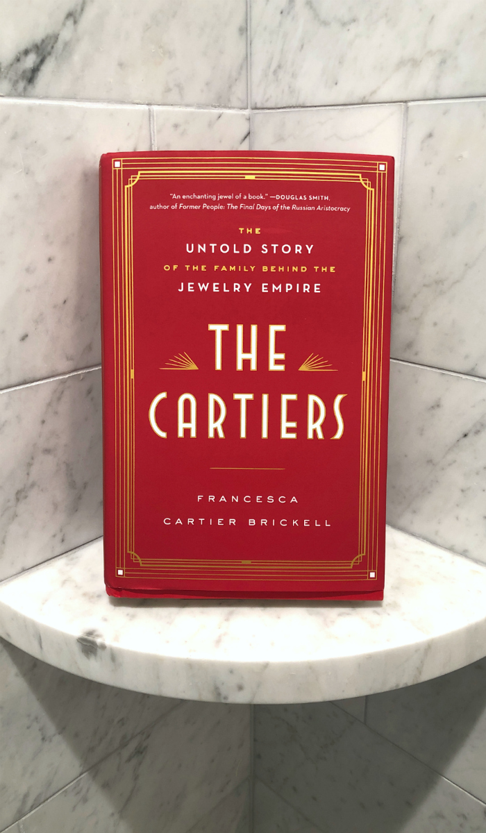 My review of The Cartiers by Francesca Cartier Brickell. The Untold Story of the Family Behind the Jewelry Empire. A must have if you love jewelry books!
